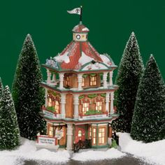 "Department 56: Products - ""Design Works North Pole"" - View Lighted Buildings"