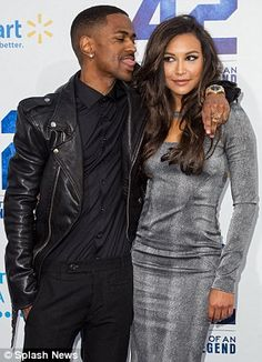 Naya Rivera and Big Sean official debut as a couple at 42 premiere in LA