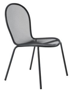 Ronda Chair stoel antraciet   Emu