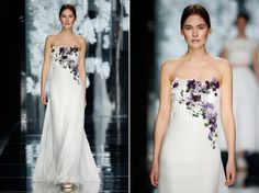 boho folk and orchid couture !!! YolanCris 2016 bridal collection - launched at Barcelona Bridal Fashion Week