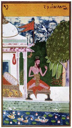 Devgandhar Ragini. Rajasthan  Bundi - Kota region, ca. 1740