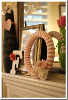 Pretty Yarn Wreath