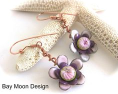 BayMoonDesign: Bay Moon Design's Latest Earrings for AJE Earrings Challenge and Mother's Day Sale
