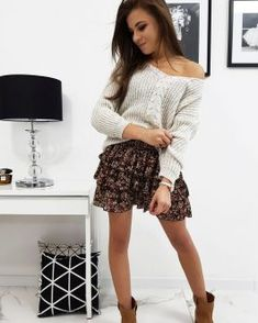 Dámske svetre a roláky - Oblečiemsa.sk Skater Skirt, Skirts, Fashion, Moda, Skater Skirts, Skirt Outfits, Fasion, Trendy Fashion, Skirt