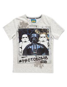 Star Wars™ Pure Cotton Photobomb T-Shirt (5-14 Years)