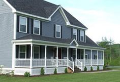 Colonial Style Home with Farmers Porch