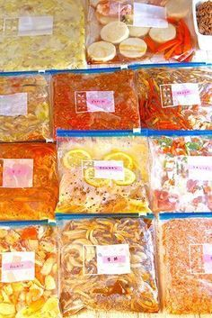 """平日のご飯作りが楽になる♪休日に作る""""お肉""""と""""野菜""""の冷凍保存レシピ♡part3"""