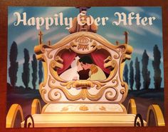 Going on a Disney Cruise? Need some magnets to decorate your door? Check these out! This door magnet that reads Happily Ever After and features Cinderella and Prince Charming on their wedding day! The magnet is postcard-size (approximately 5.5x4.25). This is a finished product and will be shipped immediately!  I only ship within the United States.