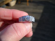 2.47 TCW DIAMOND RING - .97CT SOLITAIRE + 1.50cts  ACCENT DIAMONDS IN WIDE BAND