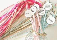 リボンワンズでウェディングを演出♡可愛いリボンの杖をDIY♩のトップ画像 Wedding Styles, Wedding Photos, Miniatures, Handmade, Straws, Preschool Ideas, Party Party, Happy, Groomsmen