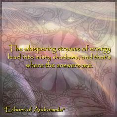 Echoes of Andromeda: Zumi's Prophecy by Griffin Garcon http://www.amazon.com/dp/B00N8AR8UY