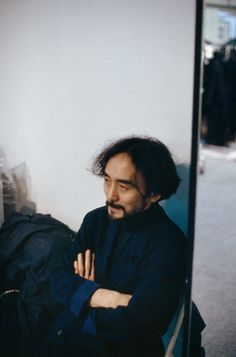 Yohji Yamamoto by Ferdinando Scianna, Paris 1987
