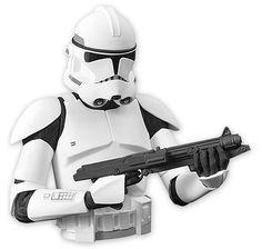 Star Wars Clone Wars Spardose Clone Trooper. Hier bei www.closeup.de