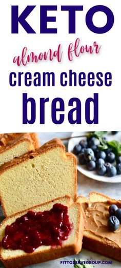 This easy recipe for keto cream cheese almond flour bread makes a great basic white bread loaf. The perfect low carb bread for when you are missing bread while doing keto. Bread goes keto with this delicious low carb cream cheese bread! Almond Flour Bread, Almond Flour Recipes, Low Carb Almond Bread Recipe, Easy Keto Bread Recipe, Coconut Flour, Keto Flour, Low Carb Flour, Cream Cheese Bread, Cream Cheese Keto Recipes