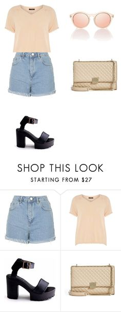 """Без названия #3"" by serobabova on Polyvore featuring мода, Topshop, Dorothy Perkins и GUESS by Marciano"