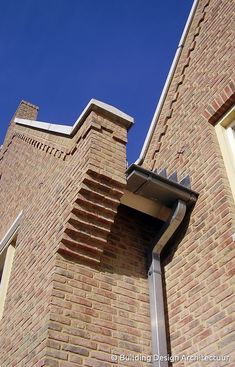 Detail woning in Engelse bouwstijl © Building Design Architectuur