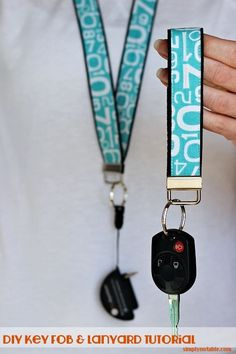 Key Fob and Lanyard Tutorial