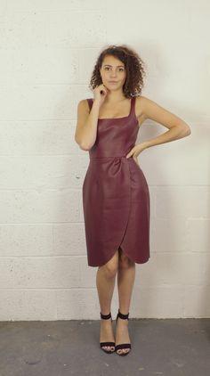 Kunstleder Kim Dress 3 girls, 1 pattern: The Kim Dress – By Hand London