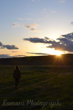 my boyfriend walking in the sunset    http://www.flickr.com/photos/45970238@N07/