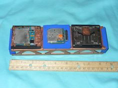 Three Compartment Art Box by CustomBox on Etsy, $40.00
