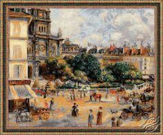 Square of the Trinity. Paris - Cross Stitch Craft Kits by RIOLIS - 1396
