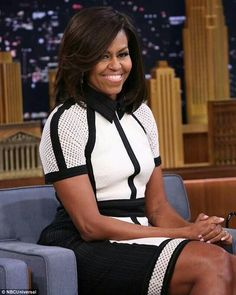First Lady Michelle Obama on Jimmy Fallon