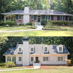 don't give up on a ranch! This beauty in Brookhaven (Atlanta) was done by Blake Shaw Homes and…