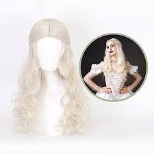alice in wonderland veil - Google Search Costume Wigs, Cosplay Wigs, Halloween Party Kostüm, White Queen, Synthetic Hair, Alice In Wonderland, Veil, Elsa, Disney Characters