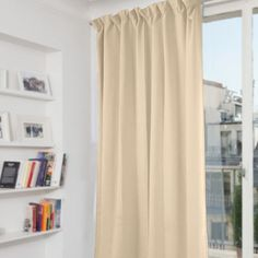 High Living Thermal coated Blackout Curtains are becoming an increasingly more popular window treatment these days. Blackout Windows, Blackout Curtains, Window Curtains, Window Treatments, Design, Home Decor, Decoration Home, Room Decor, Blockout Blinds