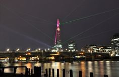 opened at last, the shard..