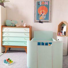 Chambre d'enfant au coloris pastels, bedroom , décoration internautes #madecoamoi