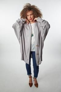 Creating beautiful fair trade and ethically sourced pieces of clothing Fashion Line, Fast Fashion, Fashion Show, Fashion Trends, Grandpa Sweater, Fair Trade Fashion, Wrap Shirt, Oversized Cardigan, Piece Of Clothing