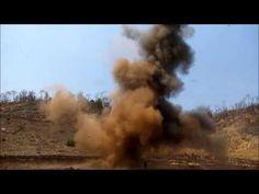 対人地雷爆破処理(Type-69×3) AP mine - YouTube