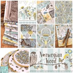 Hawthorne Threads - Norwegian Wood Fabric Collection