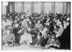 Berlin -- knitting for soldiers (LOC) by The Library of Congress, via Flickr