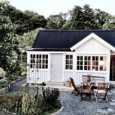 25 Best Converting Shed Guest House Inspiration - fancydecors Guest House Shed, Backyard Guest Houses, Tiny House, Backyard Cottage, Converted Shed, Fresco, Built In Storage, Storage Place, Garden Buildings