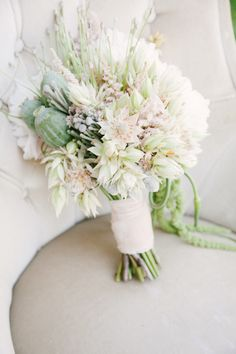 #Bouquet | See more wedding inspiration on SMP -  http://www.StyleMePretty.com/destination-weddings/2014/01/10/romantic-marie-antoinette-wedding-inspiration/ Izzie Rae Photography | Bouquet by Bo Boutique
