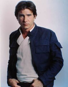 Han Solo began my obsession with sarcastic, confident men...