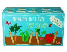 Shop Canova 'My First Ever Vegetable Garden' Childrens Grow Kit. Mr Mcgregor, Eco Garden, Christmas Garden, Grow Kit, First Ever, Helping Children, Fruit And Veg, Garden Accessories, Grow Your Own