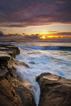 brutalgeneration: La Jolla Sunset…… (by M. Visit San Diego, San Diego Travel, San Diego Beach, Sky Sea, Amazing Sunsets, California Dreamin', Travel Images, La Jolla, The Great Outdoors