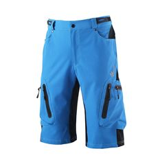 bec025798 Lixada Baggy Shorts Cycling Bicycle Bike MTB Pants Shorts Breathable Loose  Fit Casual Outdoor Cycling Running Clothes Polyamide with Zippered Pockets  ...