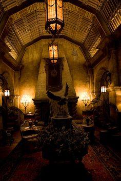 Lobby, The Hollywood Tower Hotel, MGM Studios, Walt Disney World, Orlando, Florida.
