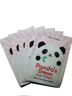 Tony Moly's Panda's Dream Eye Patch is an adorable yet effective eye patch baked with the power of bamboo extract. Bamboo extract - which is rich in amino acids - helps brighten the skin around the ey