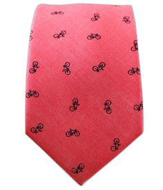 - Bicycle Chambray - Red (Cotton Skinny) Ties