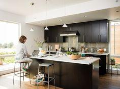 Mare Island Breezehouse - contemporary - Kitchen - San Francisco - Blu Homes