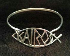 Sterling silver Kairos bracelet  $85