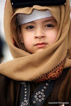 A boy from Qatar