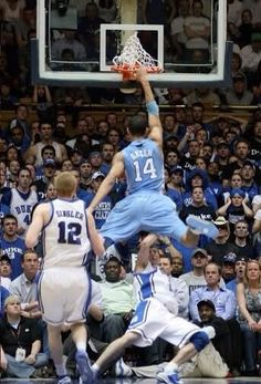 Best UNC-Duke photo ever... EVER.  Was SO just talking about this!!!