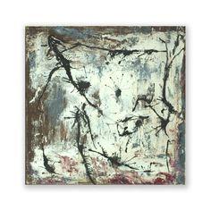 abstract art  painting mixed media  pigment and by vindadamonashop