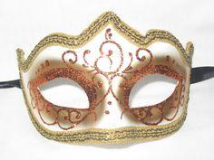 Halloween Circus, Venetian Masquerade Masks, Carnival Wedding, Mardi Gras, Venice, March, Glitter, Weddings, Orange
